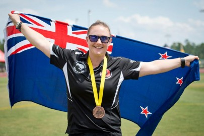 Corporal Kelly Whittle took out bronze in discus at the 2016 Invictus Games.
