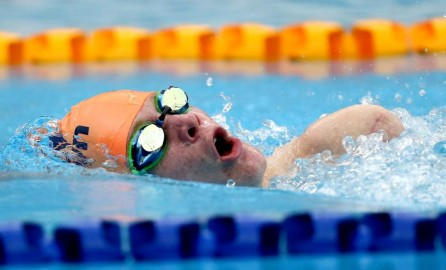 Celyn Edwards will be swimming in Berlin for a chance to qualify for the Commonwealth Games.