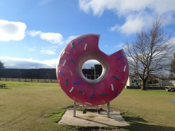 The famous Springfield doughnut will be one of the stops on the Show Me Selwyn bus tours.