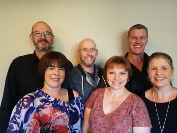 CentreStage Rolleston L to R: Phil Dean, Courtney Hyde, Glen Clark, Claire Clark, Darren Weber, Carla Weber (Absent Caelan Thomas).