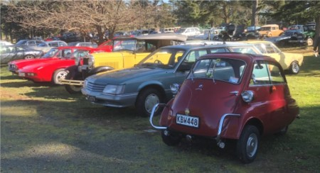 Old, unusual and seldom seen, to new shiny and much admired - all were part of the 500 vehicles who took part in the Daffodil Rally throughout Selwyn last weekend.