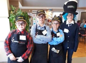 Ben English, James Reid, Will Turner and Riley Youngman-Mark, 'Baby King's Muddled Day', at Robocup.