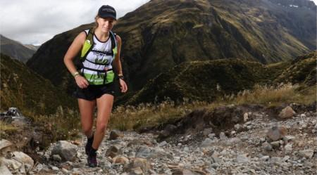 Julia Chamberlain on the Mountain Run of the 2019 Coast to Coast.