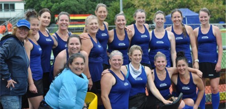 Back L-R: Val Watson (Manager), Jenna Clinton, Megan Wang, Penny Gough, Jane Jenkins, Diana Te Awa (Captain),  Kristy Redfern, Fliss Cox, Nicolle Hughes, Siona Collier, Kate Manion. Front L-R: Kim Thomas, Donna Frew, Amy Truscott (Captain),   Amy Jones, Janine Topham, Stacey Clinton.