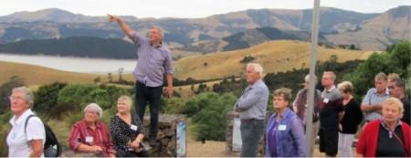 Above: Members enjoying their visit to Living Springs.