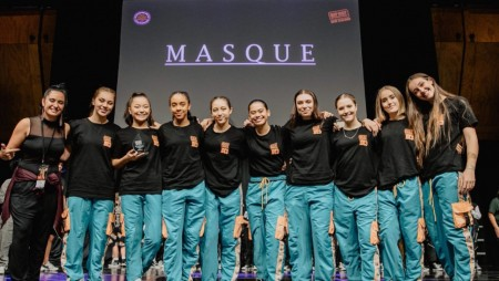 2nd from left Soph Kingi with her dance crew Masque - heading to the Worlds in Phoenix, Arizona, in August.